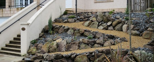 New Rock & Scree Garden
